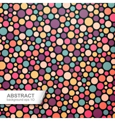 Colorful dotted abstract background vector image vector image