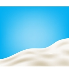 Tasty milk design element vector image vector image