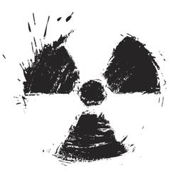 radioactivity sign vector image