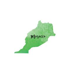 abstract morroco map vector image