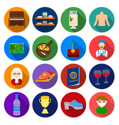 Agriculture trade sport and other web icon in vector