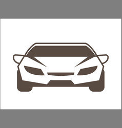 car cartoon icon graphic vector image