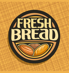 Logo for bread vector