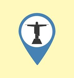 Sight Pin Icon vector