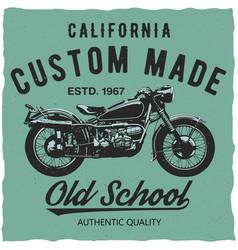 California custom made poster vector