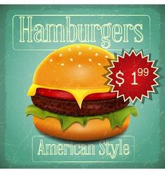 Hamburgers menu vector