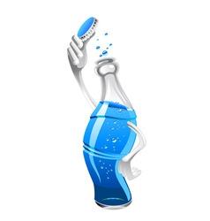 fresh drink vector image vector image