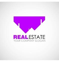 Real estate logo design real estate business vector