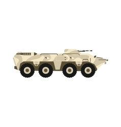 BTR tank vector image