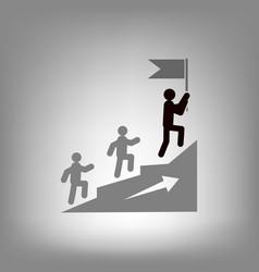 leadership icon vector image vector image