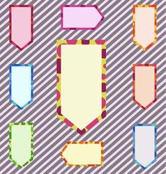 A Set of Abstract Corlorful Banner vector image
