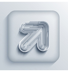 Abstract arrow icon Eps10 vector