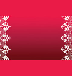 abstract chinese new year background design01 vector image
