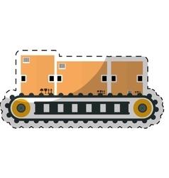 carton box design vector image