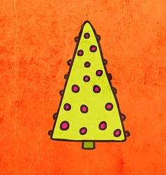 Christmas Decoration Cartoon vector image