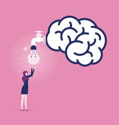 create idea - business concept vector image