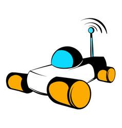 mars exploration rover icon icon cartoon vector image