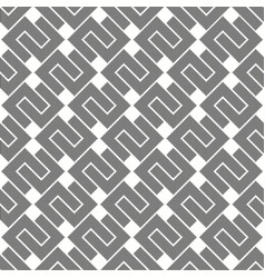 Seamless grey abstract squares pattern vector