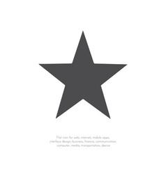 star icon 11 vector image
