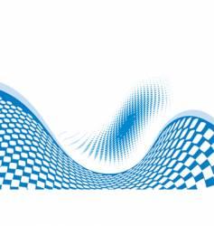 wave effect design vector image