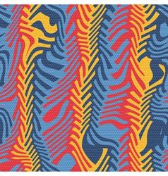 ornate herringbone distortion vector image vector image
