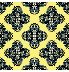 Seamless Pattern Tribal Design vector image