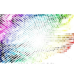 Abstract Light Technology Background vector image