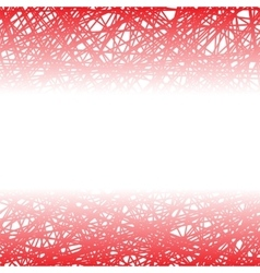 Abstract Red Line Background vector