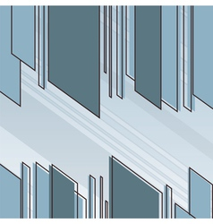 Abstract sharp cut lines vector