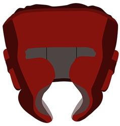 Boxing helmet vector