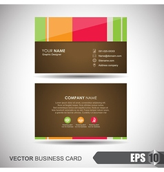 Business Card 003 vector