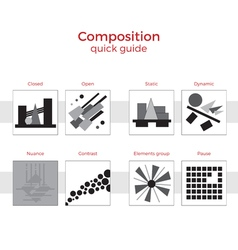 Composition quick guide vector