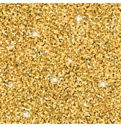 Gold Glitter Texture seamless vector image