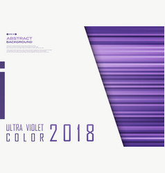 ultra violet flat color line pattern with copy vector image