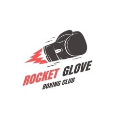 Boxing club emblem vector image vector image