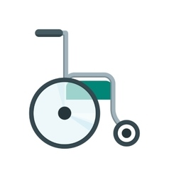 health care wheelchair vector image