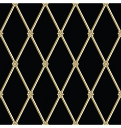 daisy iron pattern vector image