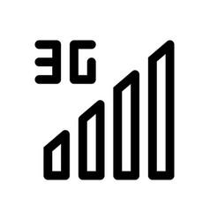 3g signals vector image