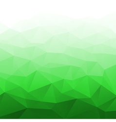 Abstract Gradient Bright Green Geometric Backgroun vector image
