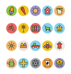 Agriculture Icons 2 vector image