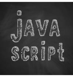 Java script icon vector