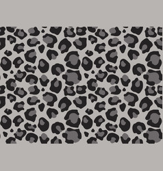 Leopard texture seamless print with wild animal vector
