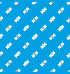 repair detail pattern seamless blue vector image