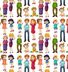 Seamless family vector