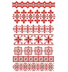 russian ornaments vector image vector image