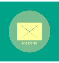 Envelope message vector image vector image