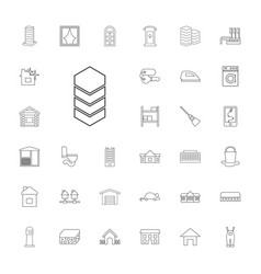 33 house icons vector