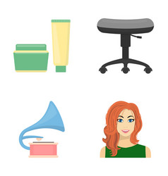Business cosmetology salon and other web icon in vector
