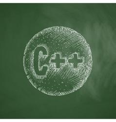 C icon vector