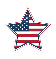 flag united states usa icon image vector image